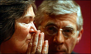 Clare Short and Jack Straw