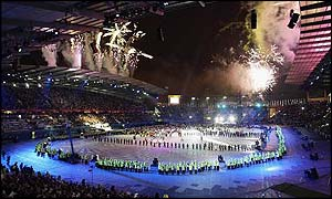 The Commonwealth Games closing ceremony