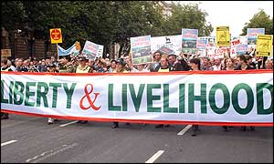 The Liberty and Livelihood march