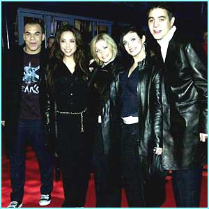 It's was all glitz and glamour as they stood on the red carpet at the Brits 2001