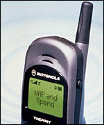 File photo of Motorola phone