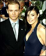 Jack Ryder and Kym Marsh