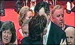 Gordon Brown and Cherie Blair