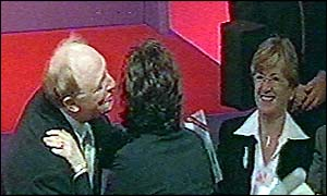 Neil Kinnock and Cherie Blair