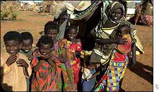 Somali refugees in Kenyan camp