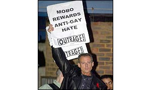 Peter Tatchell of gay rights group OutRage!