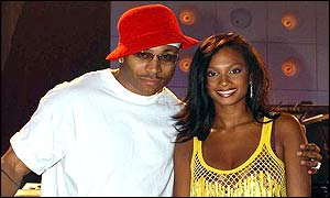 Rapper LL Cool J and Alesha Dixon, from the girl group Mis-Teeq, hosted the ceremony