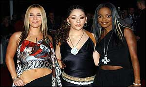 Sugababes  at the Mobos