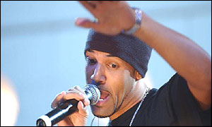 Craig David at the Mobos