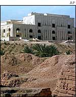 One of Saddam Hussein's presidential palaces