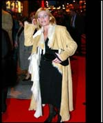Michelle Collins at the premiere