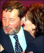 David Blunkett and Cherie Blair