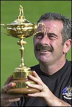 Victorious Ryder Cup captain Sam Torrance