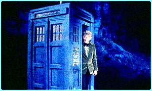 Doctor Who - time traveller, science fiction before CGI