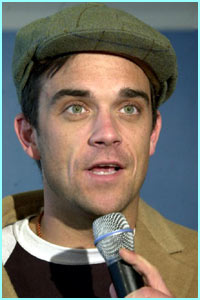 Robbie today, but he hasn't always looked like this....