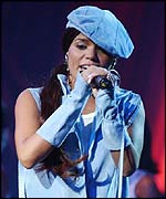 Ms Dynamite at the Mobos