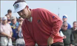 Padraig Harrington at the Ryder Cup