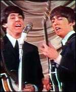 Sir Paul McCartney and George Harrison