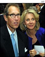Bruce Paltrow and Blythe Danner