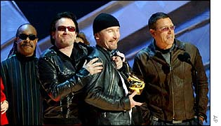 Rock group U2