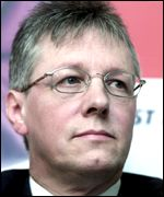 Peter Robinson of the DUP