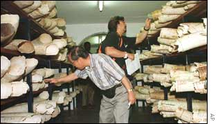 Zimbabwe ivory auction