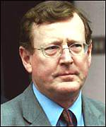 First Minister David Trimble