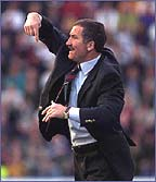 Graeme Souness managed Galatasaray in the 1990's