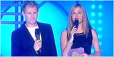 Patrick Kielty and Cat Deeley introduced us to the Fame Academy students