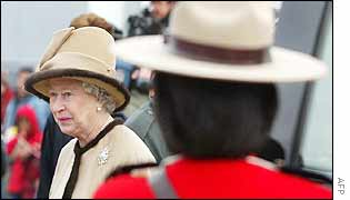 Queen and Mountie