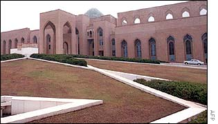 Saddam Hussein's Sujud presidential palace in Baghdad