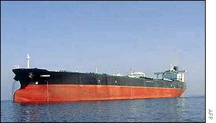 File photo of the French oil tanker Limburg