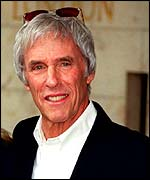 Burt Bacharach co-wrote a track on the album