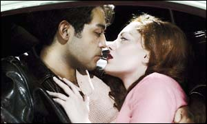 Jesus Garcia and Lisa Hopkins in La Boheme