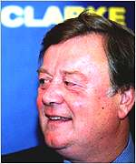 Former leadership contender Kenneth Clarke