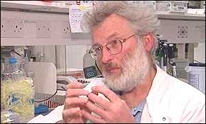 Sir John Sulston study of a worm has led to breakthroughs in genetics