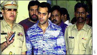 Salman Khan and police
