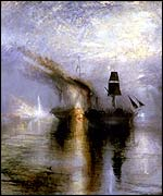 Peace - Burial at Sea, exhibited 1842 (credit: Tate, bequeathed by artist 1856)