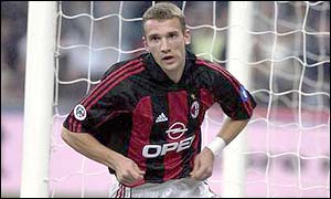 Andriy Shevchenko will be in Belfast to watch Ukraine's game against Northern Ireland