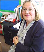 Head teacher Debbie Crossingham
