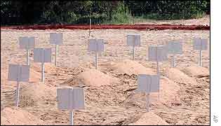 Dakar cemetery for Joola victims