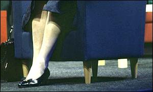 Lady Thatcher's shoes