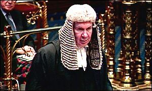Lord Irvine, the Lord Chancellor