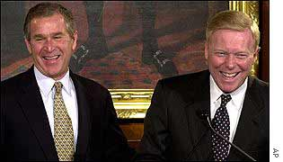 President Bush and Dick Gephardt