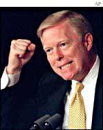 A passionate Dick Gephardt