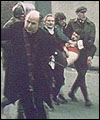 The Bloody Sunday massacre in 1972