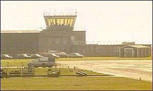 The control tower at RAF Valley