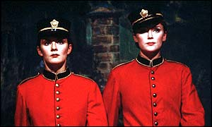 Rachael Stirling and Keeley Hawes as Nan and Kitty