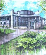 Artists impression of the new centre