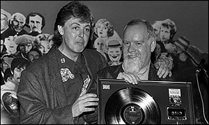 Sir Peter Blake and Sir Paul McCartney